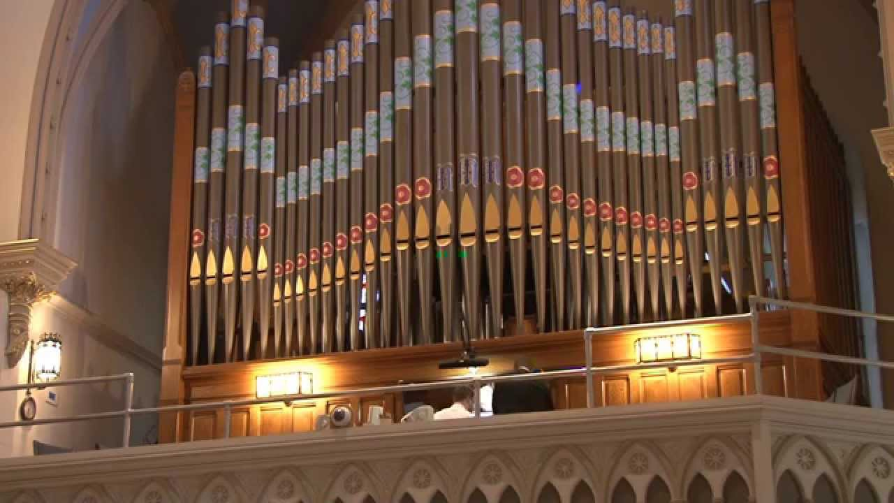 St Mary S Catholic Church Historic Pipe Organ Concert