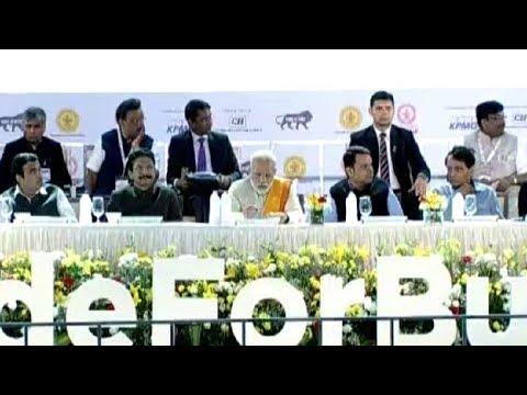 PM Narendra Modi Inaugurates Magnetic Maharashtra Investment Summit 2018