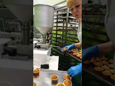 ДИВоБлог:  начинение кексов с помощью кондитерского дозатора Magnum DP (поршневого типа)