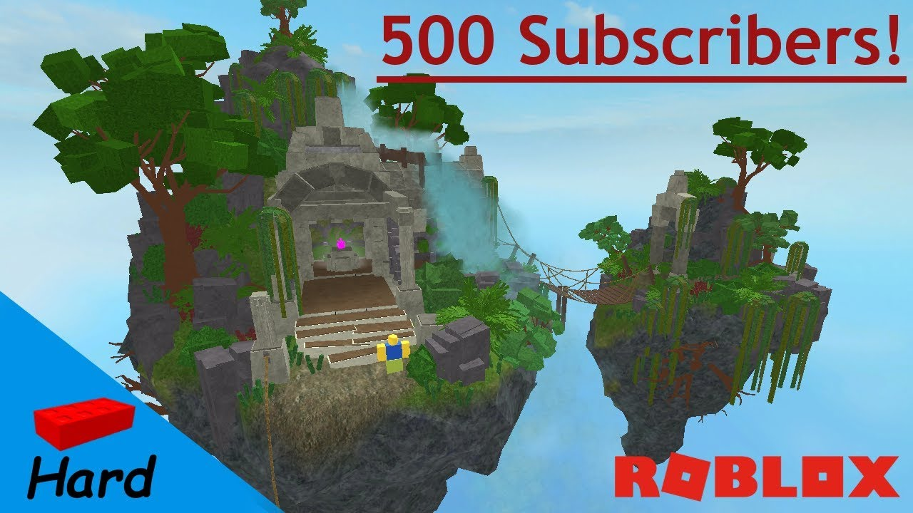 500 Subscriber Special Roblox Studio Speed Build Flying Island