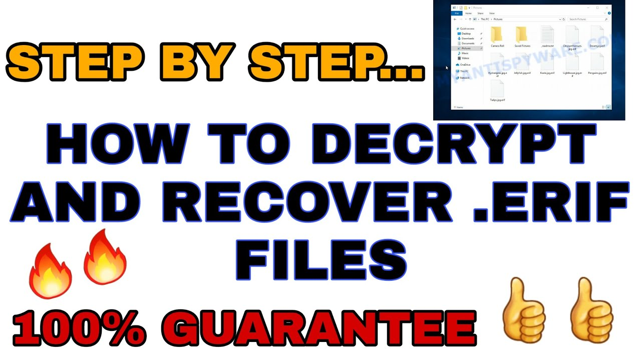 Download How To Decrypt And Recover Erif Files 🔥🔥    How To Remove .Erif Files Ransomware    Worldeez Tech