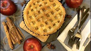 사과콩포트 가득한 애플파이?사과타르트 | 파이지 만들기…