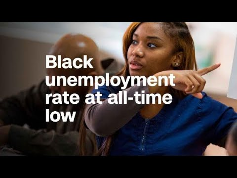 African-American Unemployment Hits Record Low Thanks To Trump from YouTube · Duration:  2 minutes 55 seconds
