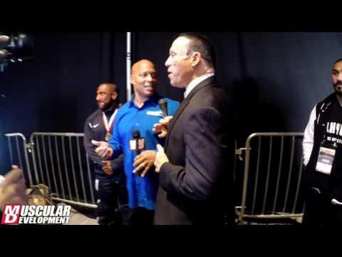 Backstage Confrontation: Ray vs. Palumbo!! Palumbo Goes Crazy!
