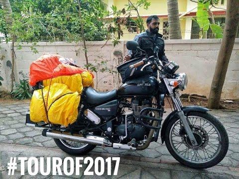 Solo Ride Across India | The #Tourof2017 Begins | Vlog 1 | Chennai to Visakhapatnam