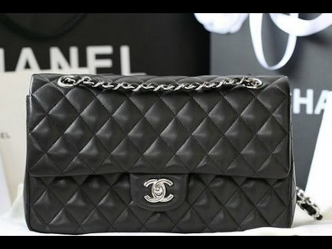 0ed7e88da5c9 Обзор сумки Chanel 2.55 большого размера ( 32 см по дну) - YouTube