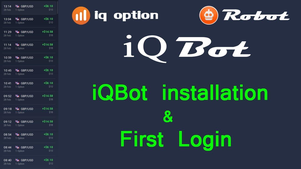 robot pentru tranzacționarea opțiunilor binare iq opțiune