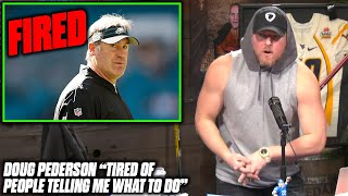 Pat McAfee Reacts To Eagles Firing Head Coach Doug Pederson