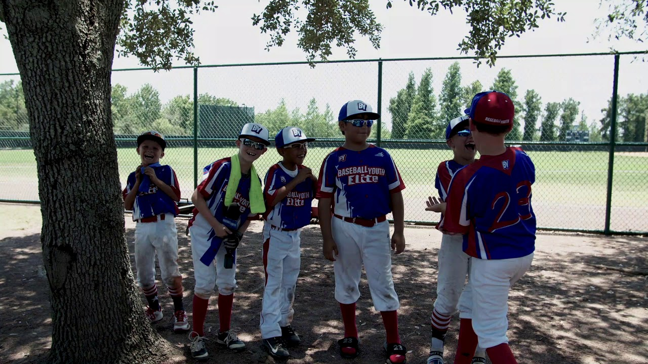 Post-game Interview: 8U Baseball Youth Elite
