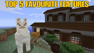 Minecraft Xbox One / PS4 - Top 5 FAVOURITE Features in TU54