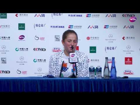 2017 Beijing Press-Conference | Jelena Ostapenko