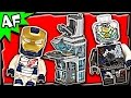 Lego Avengers Attack on AVENGERS TOWER 76038 Marvel Super Heroes Stop Motion Build Review