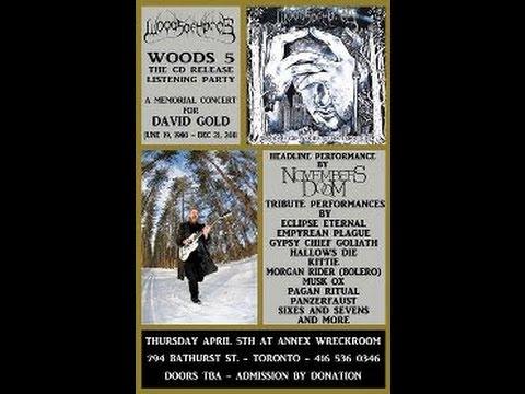 David Gold (Woods of Ypres) Memorial Concert 2012 - Toronto