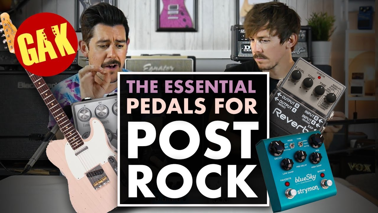 the essential guitar pedals for post rock youtube. Black Bedroom Furniture Sets. Home Design Ideas