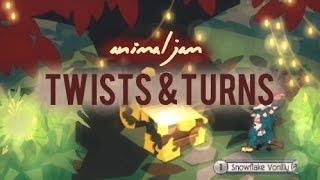 Animal Jam: Twists and Turns (Jamaa Adventures)