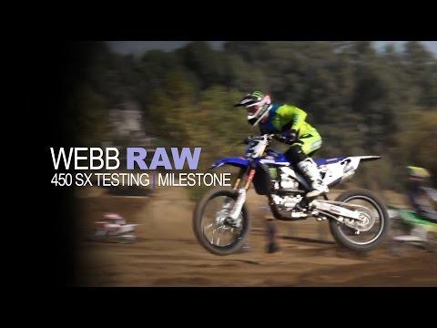 WEBB RAW – Cooper Webb SX Testing