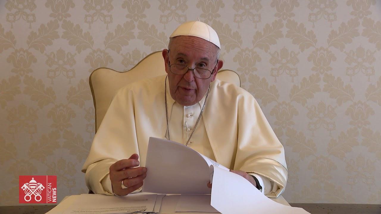 """Video mensaje del Papa a los servidores de """"Noche de caridad y del Hogar de Nazareth"""""""