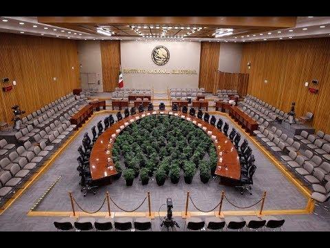 Sesión extraordinaria Urgente del Consejo General del Instituto Nacional Electoral
