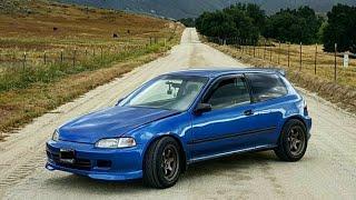 """Honda Civic """"EG"""" Hatch K24 Swap - One Take"""