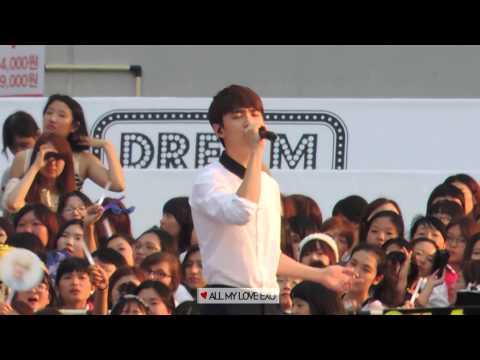 140815 SMTOWN CONCERT / f(x) - Goodbye Summer (focus D.O. 경수)