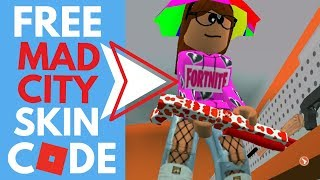 BRAND NEW! ROBLOX FREE ITEM CODE - MAD CITY - 2019