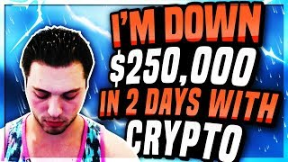 I LOST $250,000 With This ALTCOIN In 2 Days