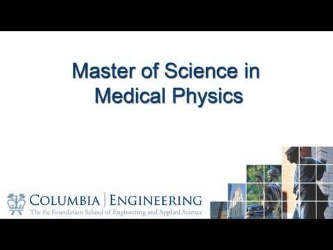 Master of Science in Medical Physics