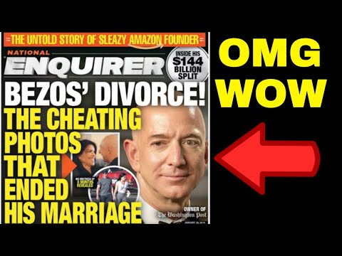 Jeff Bezos Blackmail + Nude Photos + National Enquirer  = The Law of Attraction