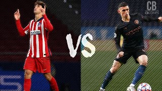 Joao Felix vs Phil Foden - Who Is The Better Youngster In 2021? Dribbling Skills and Goals