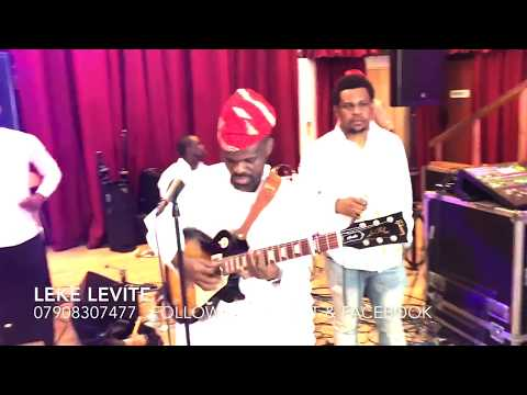 Leke Levite Covers Ebenezer Obey and King Sunny Ade music,This is pure Juju music .