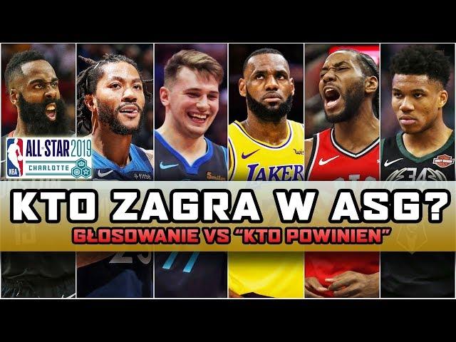 Wybór GWIAZD do All Star Game ► NBA po POLSKU