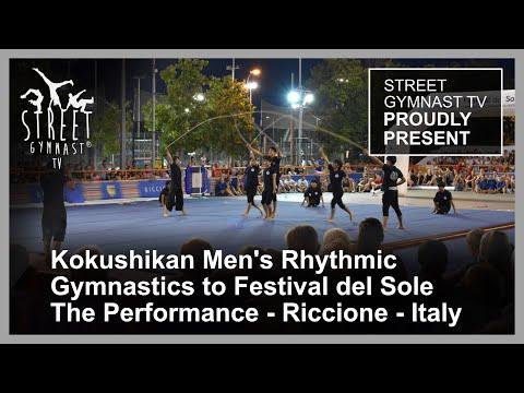 Kokushikan, Japan, Arena Giardini, Festival del Sole, Italy, Street Gymnastics