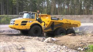 Volvo Articulating Hauler Operator
