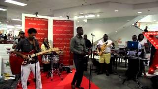 Mwen Bouke**Klasik Cover by Harmonik live at Macy's 8/22/14