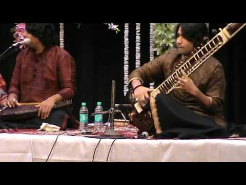 Sri. Mohd. Amaan and Sri Adnan Saeed (Sitar - Vocal Jugalbandhi) part 2