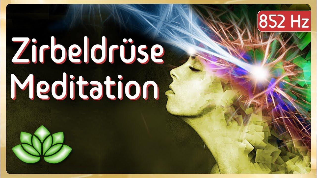 Zirbeldrüse Meditation - geführte Aktivierung - YouTube