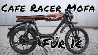 Ich verkaufe den Cafe Racer für 1€. | Mofa-Mittwoch Nr.05