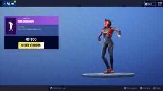 Fortnite New Crackshot Dance
