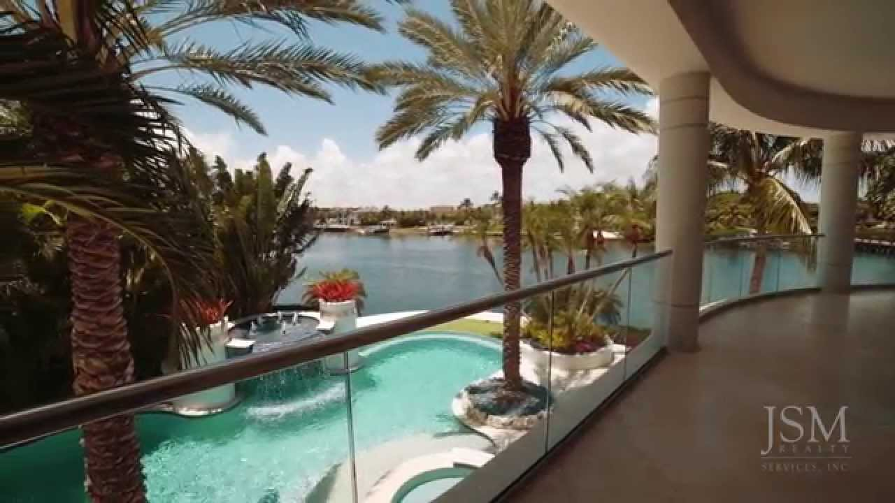 Boca Raton Real Estate Luxury Waterfront Homes For Sale 700 Coquina Way