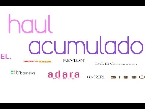Haul Acumulado... Videos De Viajes