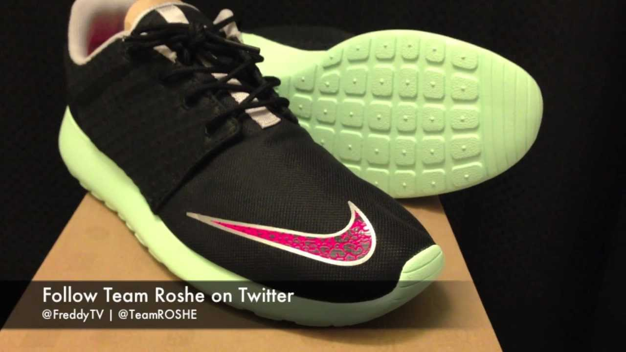 31ed7dac536f Nike Roshe Run FB Review - Yeezy Inspired  - YouTube