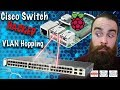 Hack a Cisco Switch with a Raspberry Pi - CCNA Security - CCNP Security - Network+
