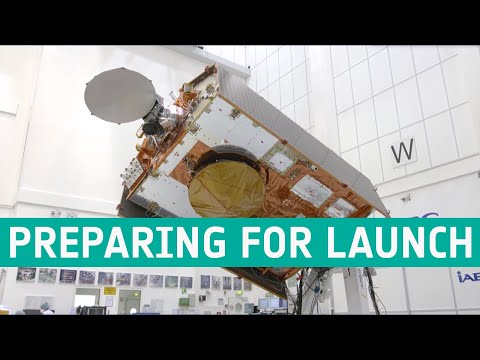Copernicus Sentinel-6 Michael Freilich: preparing for launch