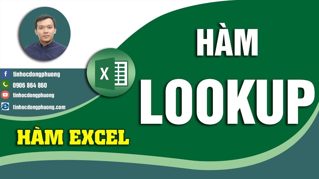 Tra 2 điều kiện với hàm Lookup trong Excel | Kiến thức Hàm Excel