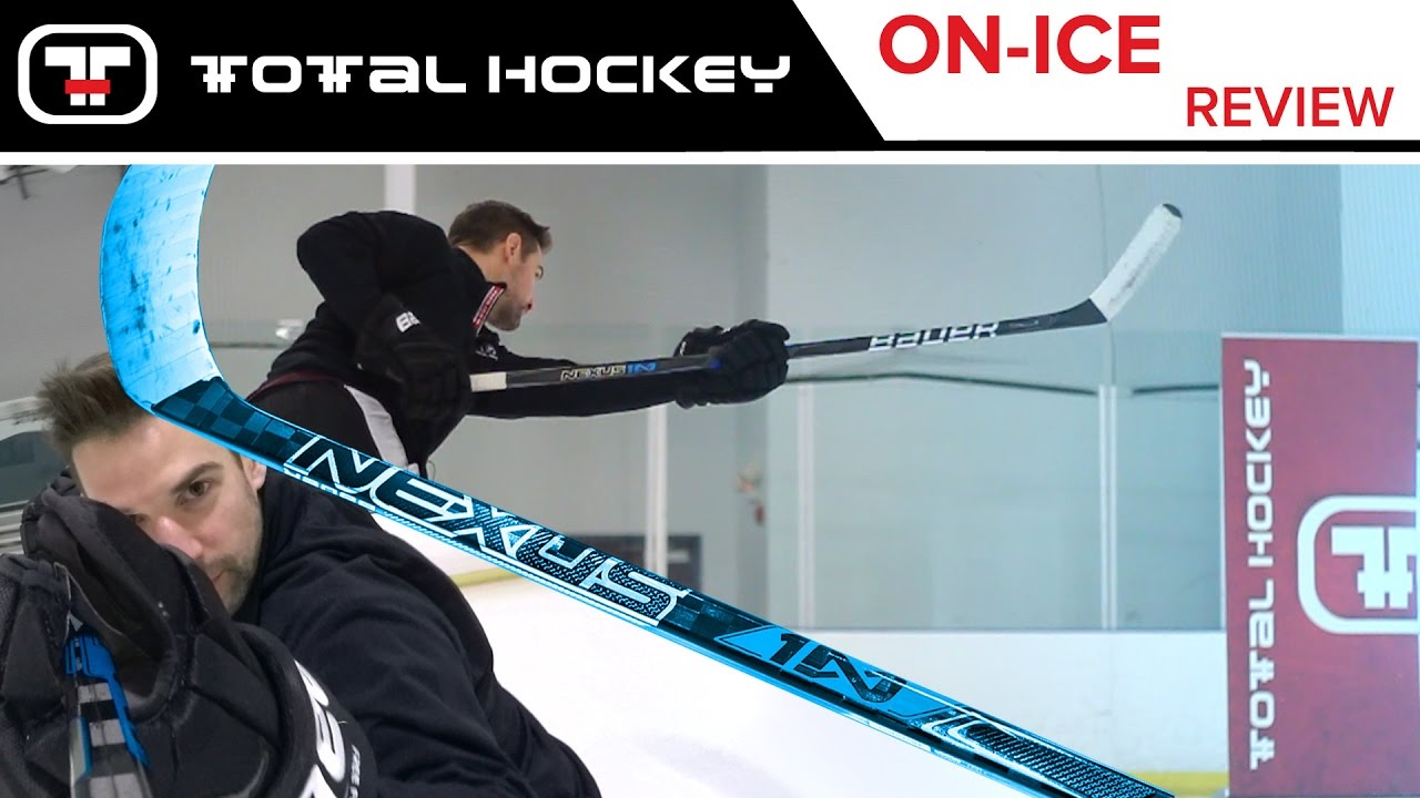 b4945c1d96b Bauer Nexus 1N Stick 2017    On-Ice Review - YouTube