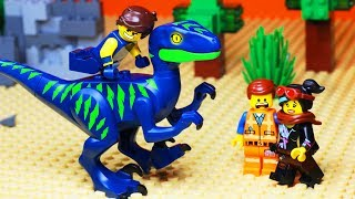 The LEGO Movie 2 Jurassic World Robbery Fail