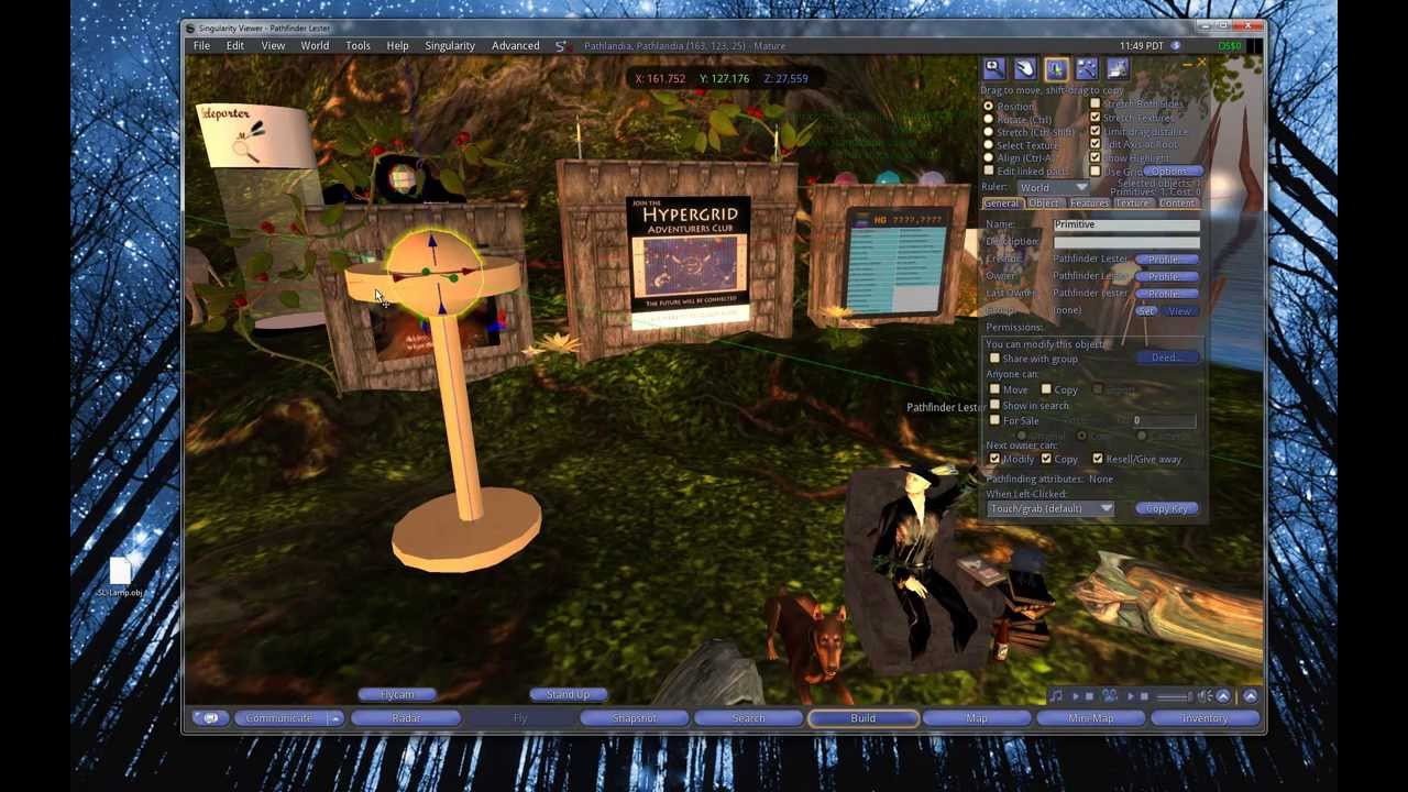 New World Notes: New Singularity Viewer Lets SL Creators