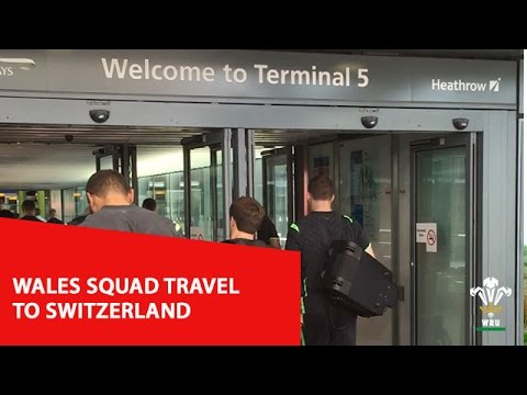 Wales squad travel to Switzerland for Rugby World Cup training camp | WRU TV