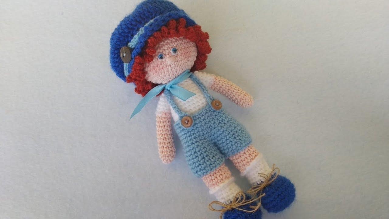 Bambolina Lilly amigurumi schema gratia crochet uncinetto | 720x1280