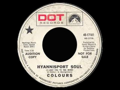 COLOURS - Hyannisport Soul (Lost You To The Wind) 1968 Rare USA Baroque Pop Psych Single Only